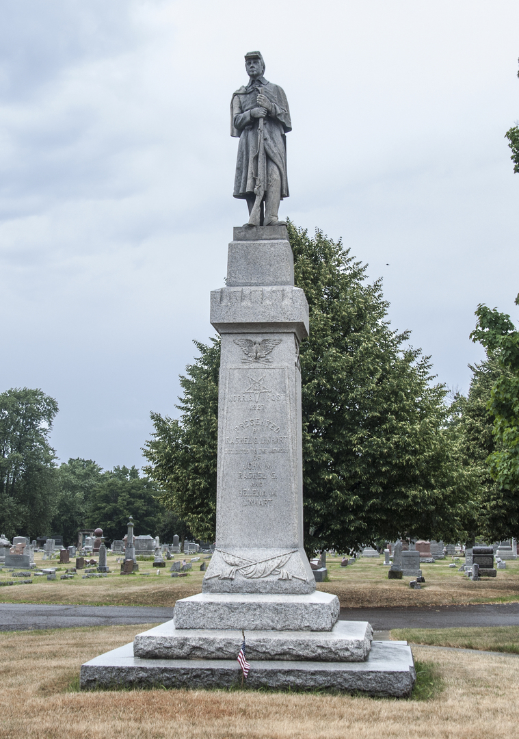Civil War Memorial of Fostoria Fountain Cemetery 1.jpg