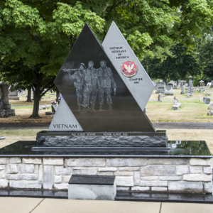 Vietnam Veteran Memorial of Fostoria Fountain Cemetery 1.jpg